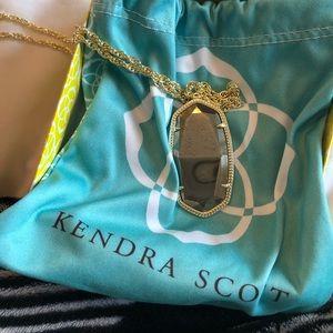 NWT NIB kendra scott reid necklace// long